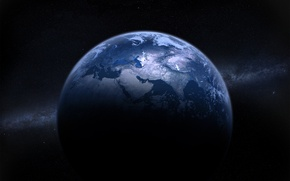 Picture space, planet, stars, planet star