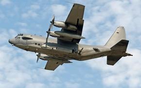 Wallpaper UK - England, Midenhall (EGUN), Lockheed AC-130H Hercules (L-382), October 03, 2011