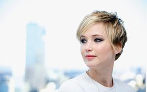 Wallpaper Jennifer Lawrence, American Hustle, press conference, December 2013