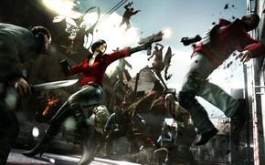 Picture weapons, monsters, knife, Capcom, Resident Evil 6, Ada Wong, BIOHAZARD 6, Biological threat 6, Resident ...
