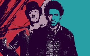 Picture England, UK, Sherlock Holmes, Robert Downey Jr., Baker street, Arthur Conan Doyle