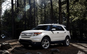 Picture grey, SUV, ford, explorer, ford explorer