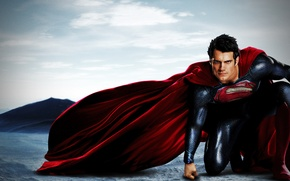 Picture Superman, Man of steel, Henry Cavill