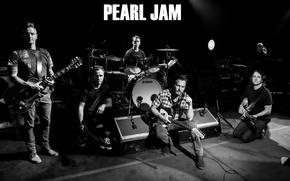Picture Rock band, Matt Cameron, Stone Gossard, Mike McCready, Eddie Vedder, Pearl Jam, Jeff Ament
