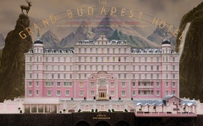 Picture movie, poster, adventure, 2014, comedy, drama, the the Grand Budapest hotel, Wes Anderson, the grand …