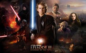 Picture Star Wars, Star wars, Darth Vader, Iodine, lightsaber, clones, clones, lightsaber, master, Obi-Wan Kenobi, Obi-WAN …