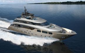 Picture megayacht, Tecnomar, swim 40, superyacht