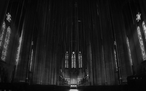 Picture cross, San Francisco, the altar, San Francisco, Grace Cathedral, Grace Cathedral
