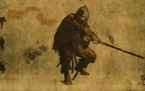 Wallpaper weapons, ninja, ninja, background