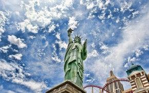 Picture The sky, USA, America, The Statue Of Liberty