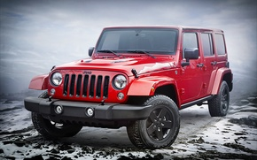 Picture jeep, Wrangler, Jeep, Unlimited, 2015, Wrangler