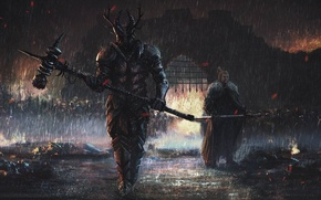 Picture fire, flame, sword, war, ken, wolf, death, A Song of Ice and Fire, Game of …