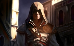 Picture game, art, assassins creed, assassin