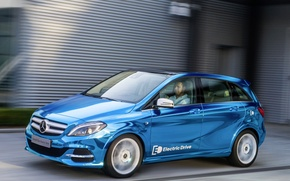 Picture Mercedes Benz, B-class, Electric Drive