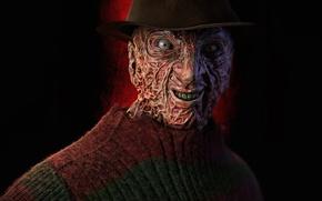 Wallpaper Kruger, Freddy, face