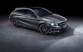 Picture Mercedes, Mercedes, AMG, AMG, Shooting Brake, CLA 45, 2015, X117, Orange Art
