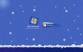 Picture SNOW, YEAR, LOGO, NEW, SNOWFLAKES, SAVER, CHRISTMAS