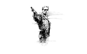 Picture weapons, glasses, shotgun, Terminator 2, Judgment Day, Terminator 2, Judgment Day, Arnold Shwarzenegger