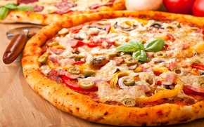 Picture food, yummy, pizza, wallpapers, pizza