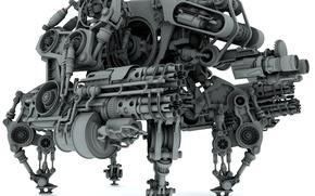 Wallpaper Model, Robot Combat