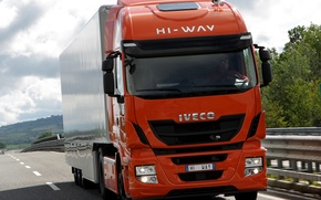 Wallpaper hi-way, stralis, Iveco