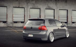 Picture grey, volkswagen, Golf, golf, Volkswagen, gti, MK5
