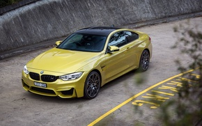Wallpaper Coupe, road, car, BMW, Competition Package, car, road, BMW