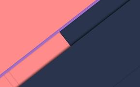 Picture line, blue, pink, material, Lollipop