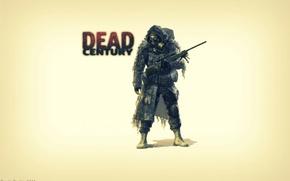 Wallpaper weapons, game, zombie, machine, dead century