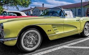 Picture Corvette, Chevrolet, classic, Chevrolet Corvette, 1958 Chevrolet Corvette