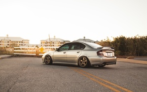 Picture road, Subaru, Subaru, Legacy, legacy, the dividing line, sports sedan
