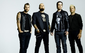 Picture music, rock, Three Days Grace, Adam Gontier, Barry Stock, Brad Walst, Neil Sanderson