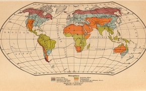 Picture world, earth, vintage, geographic, map, paper, globe, old map