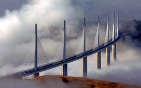 Picture France, French, Brigde, Millau, others, south, technics