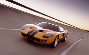 Wallpaper Ford, GT-40, track, Ford