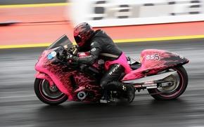 Picture race, speed, motorcycle, bike, racer, drag racing