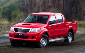 Picture Red, Japan, Australia, Wallpaper, Japan, Toyota, Car, Pickup, Auto, Hilux, Wallpapers, Australia, Toyota, Hilux, Picup, …