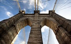 Picture bridge, The sky, arch