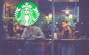 Wallpaper Sony, arabica, robusta, coffee, people, Starbucks, matte, iPhone, glass