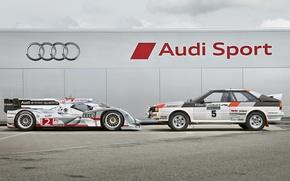 Picture rally, the mans, audi quattro, the audi r18 e-tron quattro