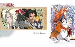 Picture mouse, red hair, Shouryu, the Twelve kingdoms, 12 Kingdoms, Keiki, Raccoon, Is Nakajima, Enki, by …