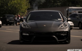 Picture tuning, Porsche, Panamera, turbo, Porsche, tuning, the front, Panamera