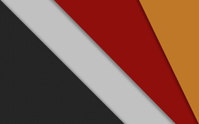 Picture white, yellow, red, strip, grey, geometry, design, color, material