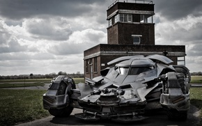 Picture auto, batman, machine gun, batmobile