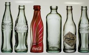 Wallpaper Coca-Cola. bottle