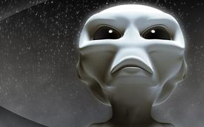 Wallpaper alien, alien