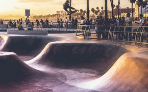 Picture sport, USA, United States, Los Angeles, California, people, Venice Beach, America, attraction, United States of …