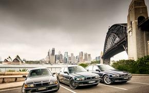 Picture machine, bmw, BMW, black, e38, bimmer