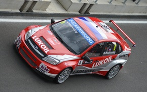 Picture race, the car, car, Lada, Moscow, LADA, Granta, Grant, WTCC, touring, the world championship of …
