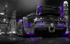 Picture Bugatti, Veyron, Side, Back